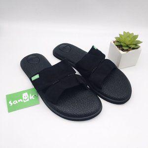Sanuk Yoga Mat Capri Black